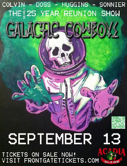 Galactic Cowboys at the Arcadia.