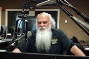 Rock and Soul Gospel show host Chris MacIntosh AKA Grandfather Rock