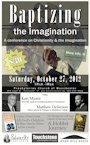 Baptizing the Imagination conference poster.