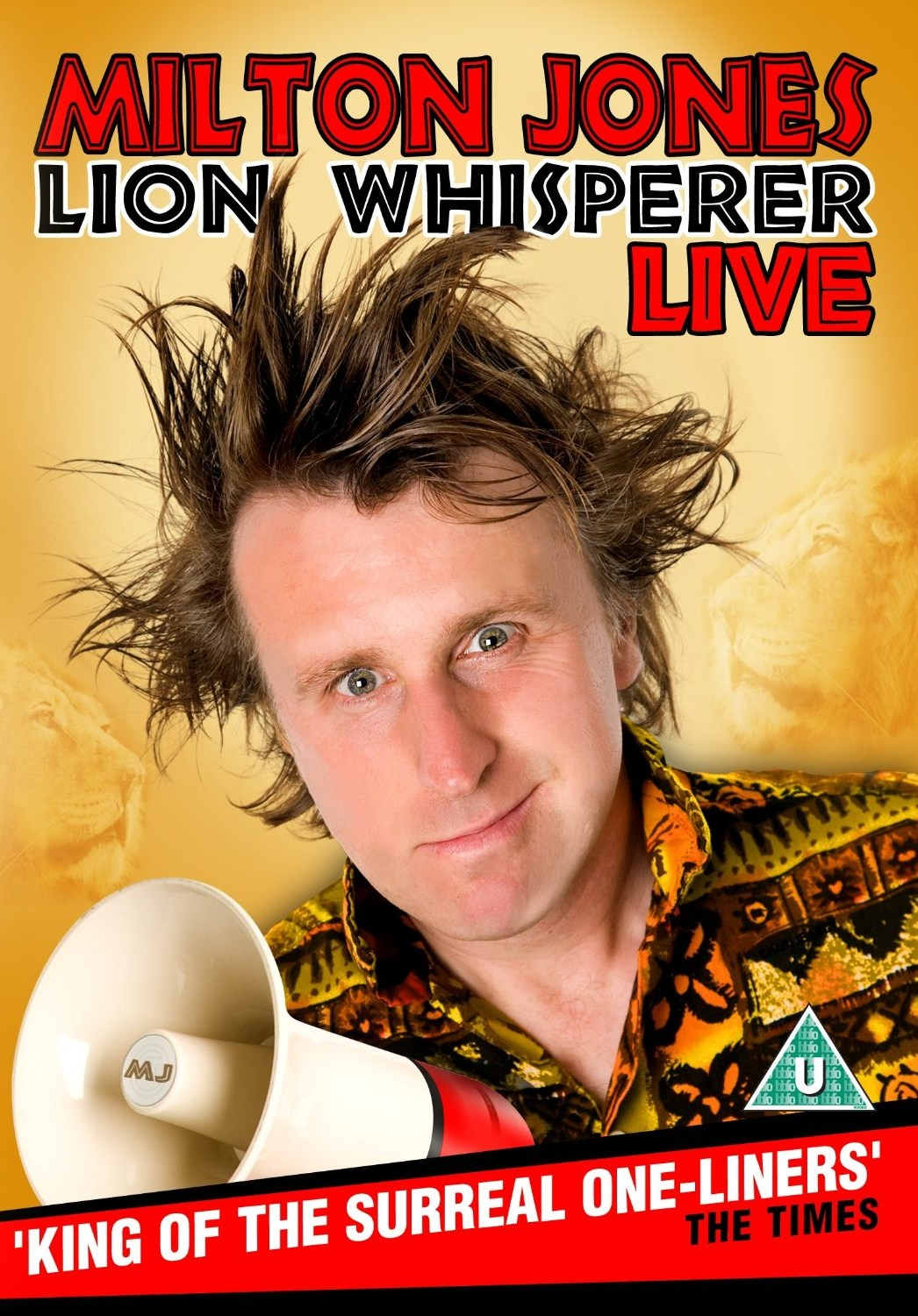 Milton Jones lion-whisperer reviewed in Phantom Tollbooth