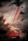 Godzilla 2014 movie poster.