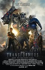 Transformers Age of  Extinction movie poster.